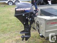 - 2001 Deep V Jon Boat for Sale with a new 9.9 Mercury