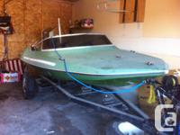 14-foot Banshee Mark IV waterski boat 130 HP Chrysler