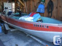 older 14 foot lund deep and wide has 20 inch transom ,