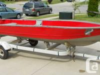 Available for sale a 14 Foot Sea Nymph Light weight