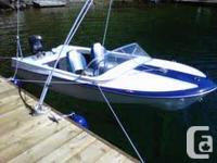 14ft, 1964 BELL BOY. , well maintained 65 Mercury