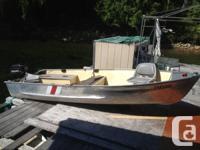 For sale 14 ft princecraft alum boat on alum trailer