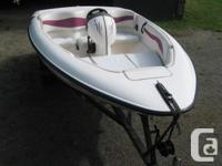 14 ft Seaswirl Jet Boat 115 turbo jet 3 seater - also