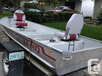 50th Anniversary model 14 ft Lund aluminum boat
