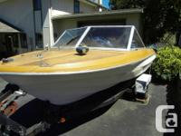 marlin craft boat & 50 merc ,4.5 hp kicker ,9 fih rods