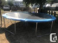 I am selling my trampoline since I already have another