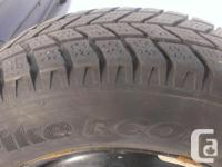 I am selling a set of 4 HanKook Wintertime Tires with