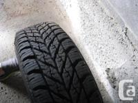 Goodyear winter tires 185/65R14 86T Set of 4 tires on