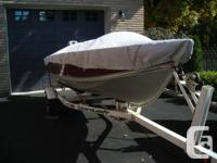 2001 Lund 14' boat, 3 swivel seats, 2 oars 1994 25 HP