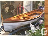 The last boat hand built by Hugh Campbell. Hull is