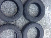"""14"""" Winter Tires. Tire size is 175/65R14. Tread left is"""