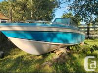 i got this boat in 2013 as a project watercraft, i put