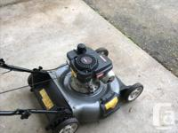 140cc Craftsman Pushmower. Carburetor just rebuilt and