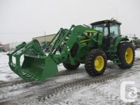 7730 2007 John Deere 7730, Row Crop Tractors, IVT with