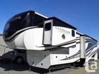 What an amazing luxury fifth Wheel this Landmark LM365