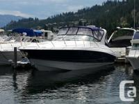 From the twin V-drive inboard power to the spacious