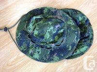 Canadian Army CadPat Boonie Hat. Made in Canada. Used