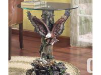 DRAMATIC EAGLE TABLE only A heroic and beautiful eagle
