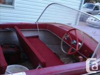 I have a mid 1970's fiberglass boat for sale or would
