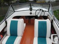 BOAT.....1985 Glasscraft with a 50 HP 4cyl Merc. Motor