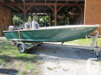 Fully refurbished princecraft aluminium boat,(rated for