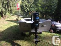 Boat, Motor, Trailer - 14ft Springbok aluminum boat -