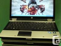 "HP EliteBook 8440P 14"" Core i5 with embedded web cam"