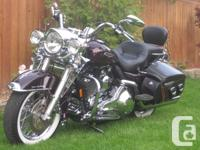 2006 ROAD KING CLASSIC FLHRCI 28000mis on bikeBack