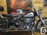 MODERN SOFTAIL COMFORT WITH A STABLE OF TOURING