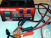 MotoMaster 15/2A Automatic and Manual Battery Charger