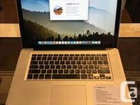 """We have a 15"""" MacBook Pro. Specifications: OS X 10.13.3"""