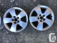 """15"""" VW Jetta OEM alloys in good condition one"""