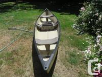 15.5' Coleman Canoe - $395- comes with two paddles -