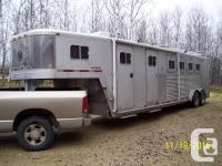 1996 Exiss Max Gooseneck four Horse All Aluminium Horse