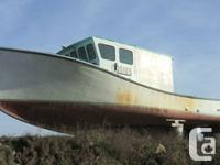 "~~1987 39' 11"" x 16"" Older Nova Scotia Fishing"