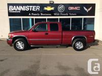 Description: This must see 2005 GMC Sierra is a perfect