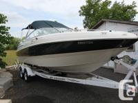 Trailer Included!!! 2300 SC offers the comfort of an