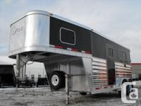 2012 Exiss 7200 ST 2 Horse Straight Load. All aluminum