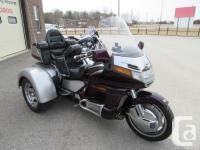 Finally! An affordable Goldwing trike. Quality Motor