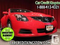 2010 Nissan Altima Coupe 2.5 S CVT Moonroof n Red Hot