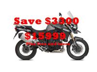 2015 Triumph Explorer XcWith a whole pack of extras and