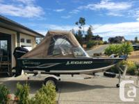 HARD TO FIND a better boat at this price 15 Legend All