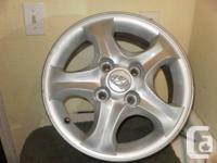 """15"""" Aluminum Rims 5X114.3 4 bolt patterns 6JX15-15 A"""