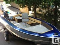 Brought back 15 ft Starcraft Boat and Trailer.  Boat:.