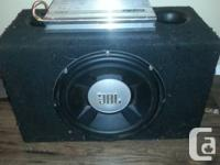 JBL Grand Touring Series GTO1504D w/ ported subwoofer