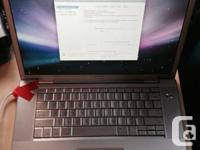 "15"" Mac Book Pro 2008 for sale. $400 OBO  yes its older"