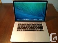 Used, I am selling a MacBook Pro bought in February of 2013. for sale  Ontario