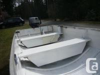Fast, fun and safe. Solid boat and trailer with paper,