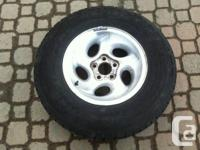 4 Rims with Tires  Rims are from a Exporler will fit