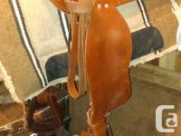 like new condition, nice deep suede seat good for